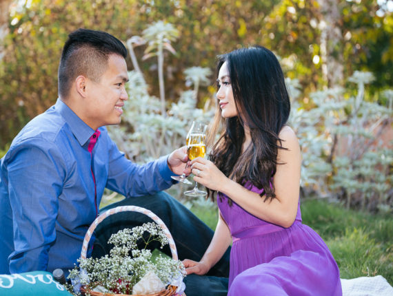 Dat & Thao Engagement Photo